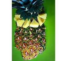 Pineapple Food Art Photographic Print