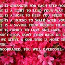 Be Encouraged, God Will See You Through by Charldia