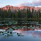 Hayden Peak Sunset by David Kocherhans