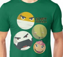 Monsters smilies emoticons mummy vampire zombie princess Unisex T-Shirt