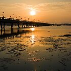 Sunrise at Ao Po pier, Phuket by Kevin Hellon