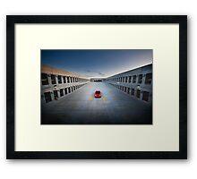 NSX at Dusk Framed Print
