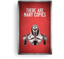 There are many copies Canvas Print