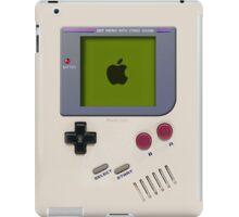 Classic old vintage Retro white milk gameboy gamewatch iPad Case/Skin