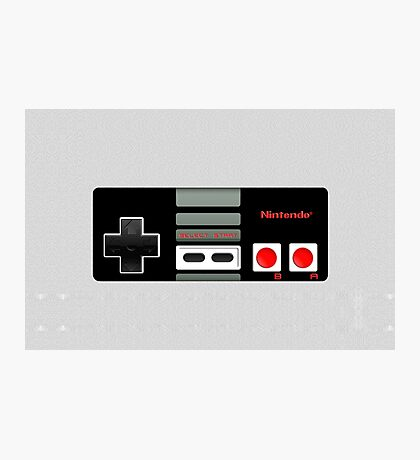 Classic old vintage Retro game controller Photographic Print