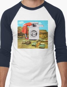 Watching machine Men's Baseball ¾ T-Shirt