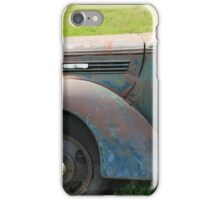 Side of a Vintage Truck iPhone Case/Skin