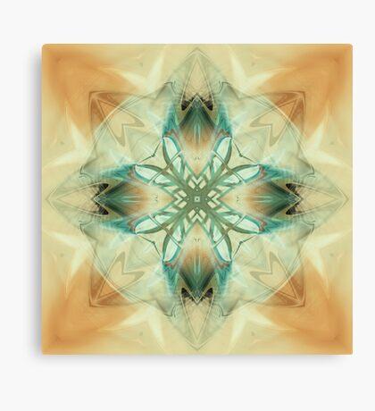 Fractal mandala of Spirituality Canvas Print