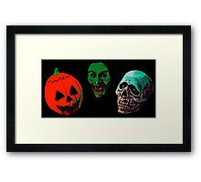 halloween 3 season of the witch Framed Print