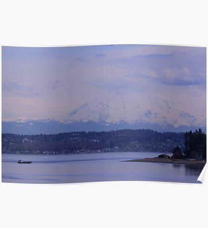 Glory of Mt. Rainier Poster