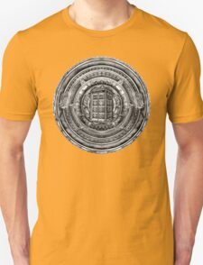 Aztec Time Lord Black and white Pencils sketch Art Unisex T-Shirt