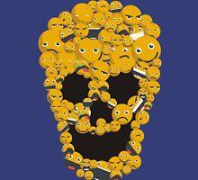 Funny emoticons smilies skull Halloween Unisex T-Shirt