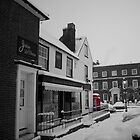 Snow Day Wickham Square by Phillip Hardy