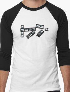 Film Sequence T Men's Baseball ¾ T-Shirt