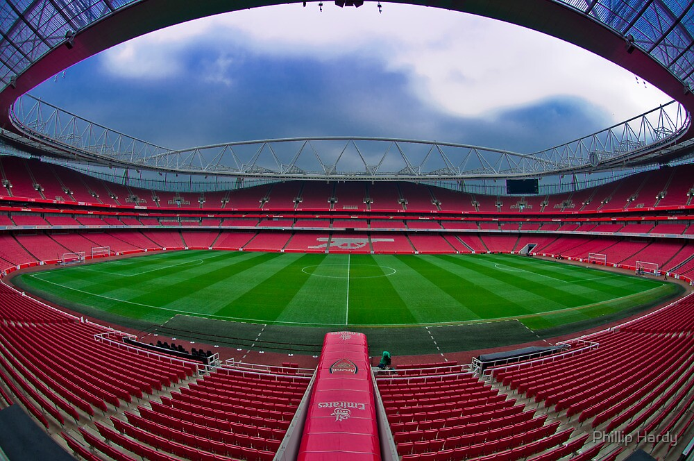 Emirates Stadium by Phillip Hardy