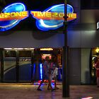 Timezone, Northbridge at night by BigAndRed