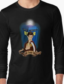 Time and Space Traveller with Banana Long Sleeve T-Shirt