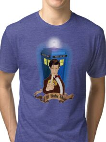 Time and Space Traveller with Banana Tri-blend T-Shirt