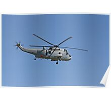 Sea King Flyby Poster