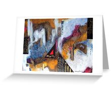 Abstract Challenge Greeting Card