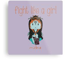 Fight Like a Girl - Midna | Legend of Zelda - Twilight Princess Metal Print
