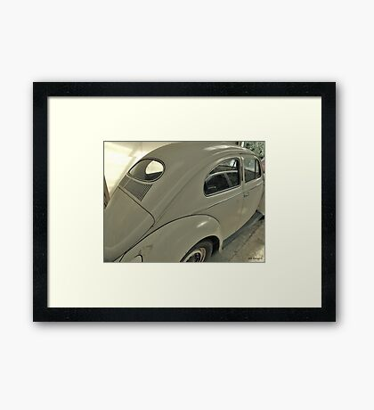 Reflections of a VW Framed Print