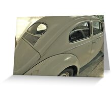 Reflections of a VW Greeting Card