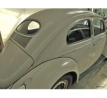 Reflections of a VW Photographic Print