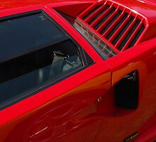 Lambo Countach Detail by TeaCee