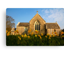Tyneham Church Canvas Print