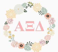 Alpha Xi Delta Letter Design by Sara Ellen Thomas