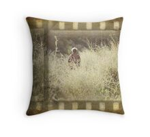 The end of the film... Throw Pillow