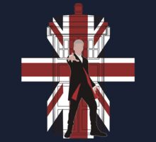Union Jack British Flag with 12th Doctor One Piece - Long Sleeve