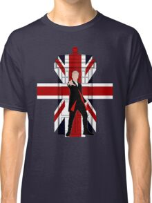 Union Jack British Flag with 12th Doctor Classic T-Shirt