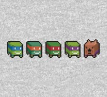 Pixel turtles by galegshop