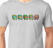 Pixel turtles Unisex T-Shirt