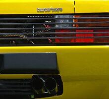 Testa Rossa Rear by TeaCee