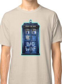 Space And Time traveller Wolf Classic T-Shirt