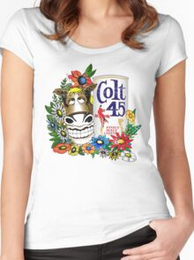 Spicoli's Colt 45 Women's Fitted Scoop T-Shirt