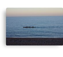 Rowers. Canvas Print