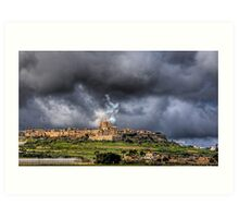 Mdina - the Ancient Capital of Malta  Art Print