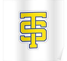 TS Cheer Logo Poster