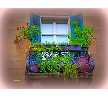 Artsy Window Photographic Print