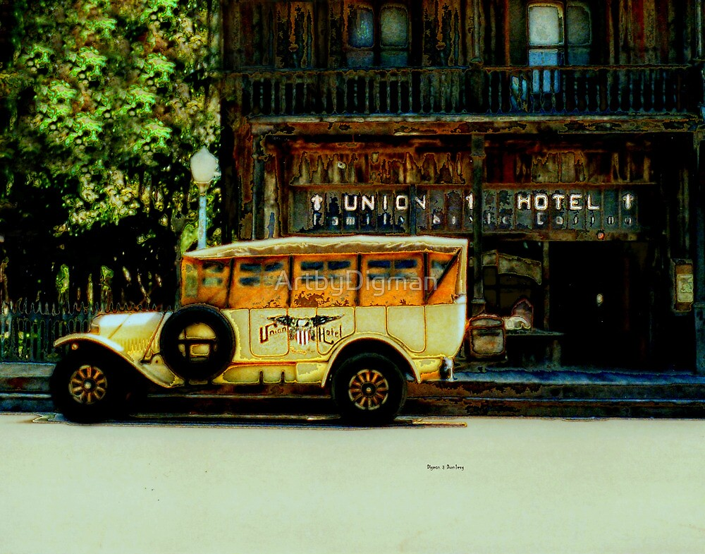 Traveling Back to the Union Hotel  by ArtbyDigman