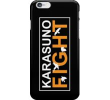 Karasuno FIGHT! iPhone Case/Skin
