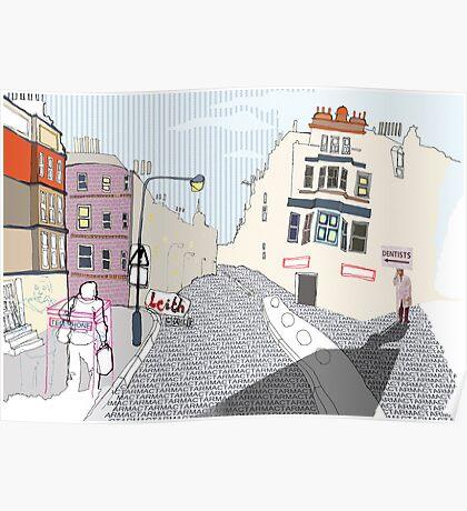 Leith Walk Poster