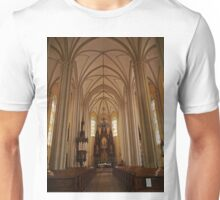 Name of Mary Church, Novi Sad, Serbia, interior Unisex T-Shirt
