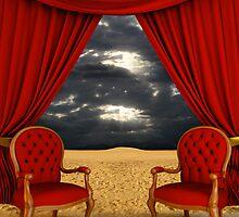Luxury room on the desert by jordygraph