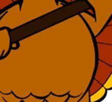 The Turkey's Revenge Sticker