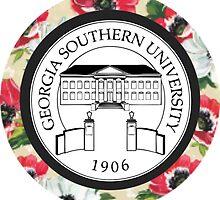 Georgia Southern Emblem by Sara Ellen Thomas